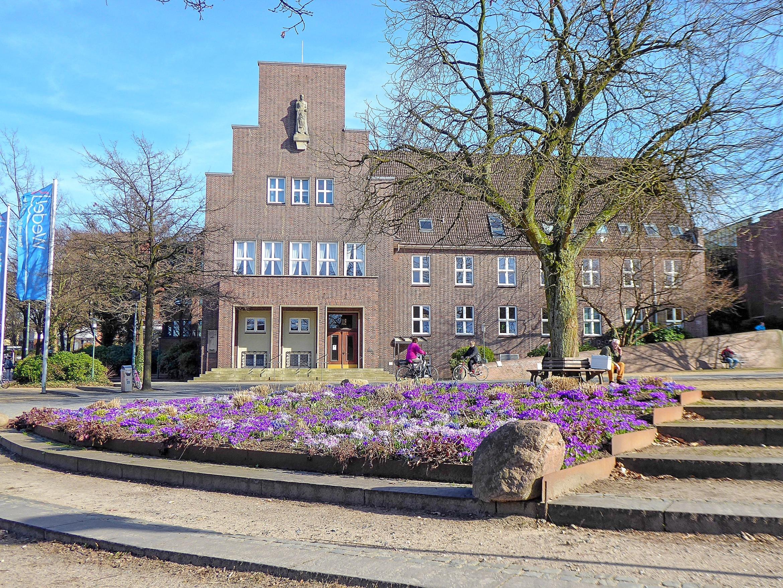 Rathaus Frühling